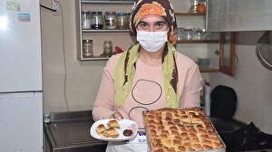 Kayısılı baklava yaptı talebe yetişemiyor: Yurt dışına da gönderiyorlar