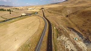 Büyükşehir asırlık yollar inşa ediyor