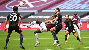 Manchester City West Ham'a takıldı
