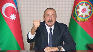 Azerbaycan Cumhurbaşkanı Aliyev'den Ermenistan'a