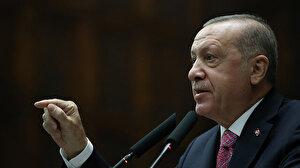 Cumhurbaşkanı Erdoğan'dan Arınç'a tepki: Kitabı okunsun denilen kişinin elinde askerlerimizin kanı var