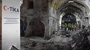 TİKA Kerkük'te Osmanlı döneminden kalan tarihi mekanlar ziyaret etti