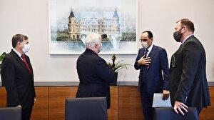 Cumhurbaşkanlığı Sözcüsü Kalın ABD'nin Suriye temsilcisiyle buluştu