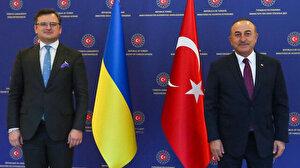 Bakan Çavuşoğlu, Ukraynalı mevkidaşı Kuleba ile bir araya geldi