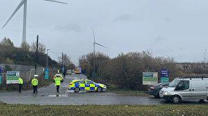 İngiltere'de patlama: İtfaiye ekipleri bölgeye sevk edildi