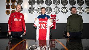 Ajax, Nicolas Tagliafico'nun sözleşmesini uzattı