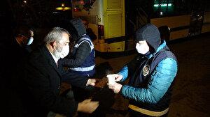 Yavuz Bingöl polislere çorba dağıttı