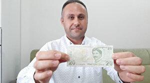 Paranın üzerindeki not duygulandırdı: 20 TL'nin sahibini arıyor