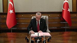Cumhurbaşkanı Erdoğan'ın imzası ile yayımlandı: Yedi bakanlıkta çok sayıda atama