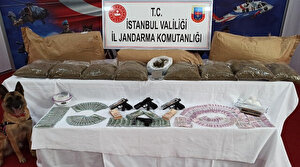 Jandarma operasyonunda 103 kilo uyuşturucu ele geçirildi