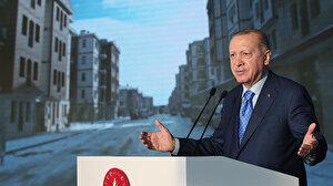 Cumhurbaşkanı Erdoğan: İstanbul'da 1.5 milyon konutun dönüşümü 5 yılda tamamlanacak