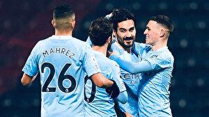 İlkay Gündoğan'ın 2 gol attığı maçta Manchester City, West Bromwich'i farklı geçti (ÖZET)