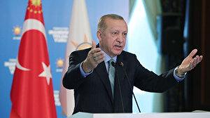 Cumhurbaşkanı Erdoğan: Eli kanlı katillerin olduğu dağlarda şimdi turistler geziyor