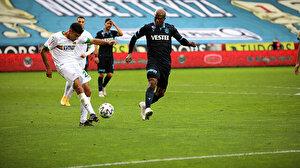 Trabzonspor evinde Fenerbahçe'den sonra Alanyaspor'a da kaybetti