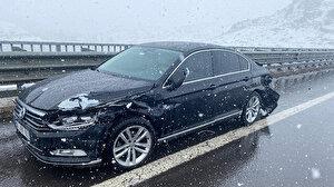 AK Partili vekil Yücel Menekşe trafik kazası geçirdi