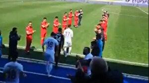 2. Lig ekibi maça Şampiyonlar Ligi müziğiyle çıktı