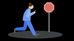 Yürürken telefon kullananların karşısına uyarı çıkacak