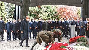 Turgut Özal dualarla anıldı: Erdoğan İnfitar suresini okudu
