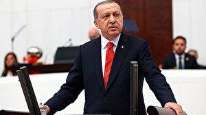 Cumhurbaşkanı Erdoğan'dan 23 Nisan mesajı: 15 Temmuz'da FETÖ'cülerce bombalanan yüce Meclisimiz ilelebet varlığını sürdürecektir