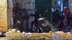 İşgalci İsrail güçleri Mescid-i Aksa'da cemaate saldırdı