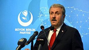 BBP Genel Başkanı Destici: İslam ülkeleri İsrailli diplomatları sınır dışı etmeli