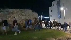 Filistinlilerin sokağa inmesinin ardından işgalciler Akka şehrini terk ediyor