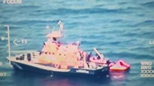Yunanistan unsurlarınca Türk kara sularına bırakılan göçmenler kurtarıldı