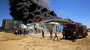 İsrail saldırılarının Gazze'ye verdiği maddi zarar 243 milyon dolara ulaştı