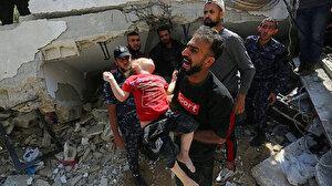 İsrail saldırılarına kurban giden çocukların sayısı her gün artıyor: En küçüğü 5 aylık son 20 yılda 3 binden fazla çocuk hayatını kaybetti