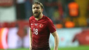 Caner Erkin'den milli maç sonrası olay beğeni: Tepki yağdı