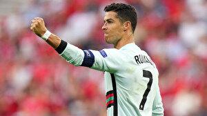 Cristiano Ronaldo'nun tarihe geçtiği maçta Portekiz 3 puanın sahibi oldu
