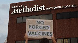 ABD'de Kovid-19 aşısı olmayı reddeden 153 hastane çalışanı işten çıkarıldı