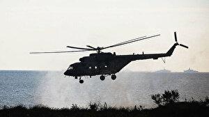Rusya'da askeri helikopter düştü: 3 kişi öldü