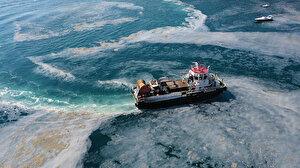Marmara Denizi'nde 17 günde 6 bin 564 metreküp müsilaj temizlendi