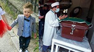 Kamyonet kasasında yanarak can vermişti: Küçük Cesur'a acı veda