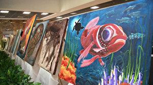 Onikişubat Belediyesi'nde Renklerin Hasadı resim sergisi
