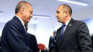 Cumhurbaşkanı Erdoğan Bulgaristan Cumhurbaşkanı Radev ile görüştü