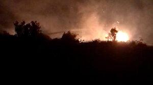 Mersin'de korkutan orman yangını: 10 dönümlük alan zarar gördü