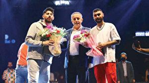 Bağcılar'da rap müzik rüzgarı esti