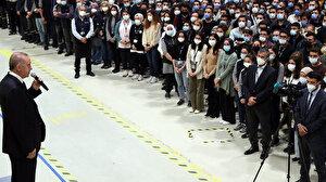 Cumhurbaşkanı Erdoğan'dan BAYKAR tesislerine taziye ziyareti