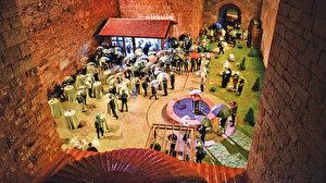 Bin yıllık zindan sanata açıldı