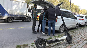Kurallara uymayanlar tek tek durduruldu: Elektrikli scooter sürücülerine ceza yağdı