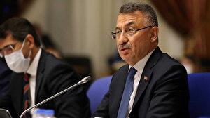 Cumhurbaşkanı Yardımcısı Oktay'dan 10 büyükelçiye tepki: Dertleri insan hakkı olsa tutuklu Filistinliler için iki kelam ederlerdi