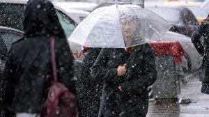 Meteorolojiden 33 ile yağış uyarısı: Kar ve kuvvetli sağanak geliyor