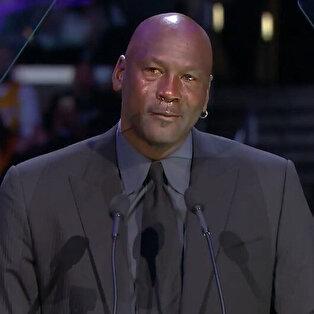 Staples Center'da duygusal anlar: 'MJ, Kobe'yi anlattı'