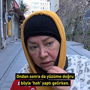 İstiklal Caddesi'nde 'öksürerek' gasp girişimi