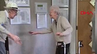First meeting of elderly British couple kept ...