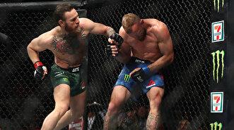 Kafese geri dönen McGregor rakibini 40 saniyede devirdi