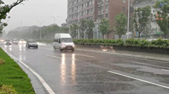 Torrential rain batters central China's Wuhan...