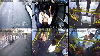 شاهد سائق حافلة بلدية تركية يقوم بدور سيارة ا...